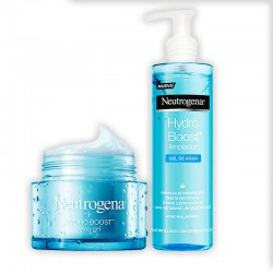 NEUTROGENA Hydro Boost Crema-Gel 50ML+NEUTROGENA Hydro Boost Limpiador Gel de Agua 200ML