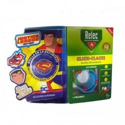 Relec Pulsera Anti-Mosquitos Infantil Click-Clack Superman