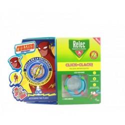 Relec Pulsera Anti-Mosquitos Infantil Click-Clack Flash