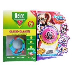 Relec Pulsera Anti-Mosquitos Infantil Click-Clack Harley Quinn