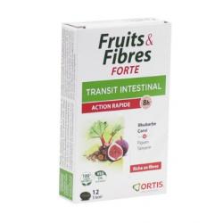 Ortis Frutas y Fibra Forte 12 Comprimidos