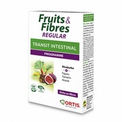 Ortis Frutas y Fibra Clásico 15 Comprimidos