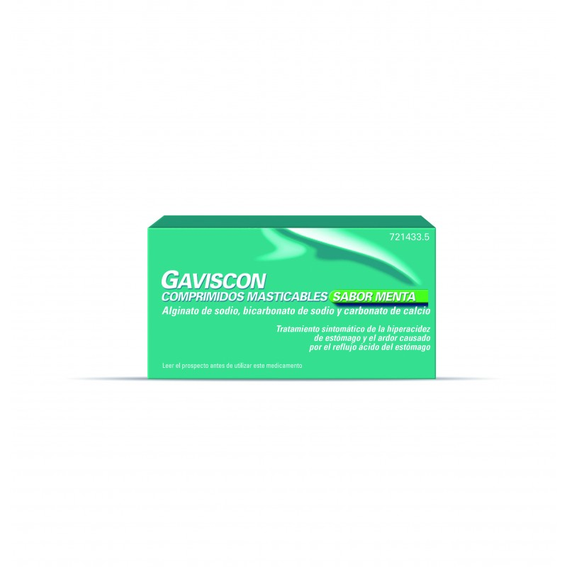 GAVISCON Menta Comprimidos Masticables