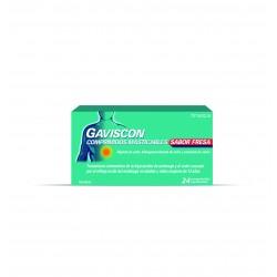GAVISCON Fresa 24 Comprimidos Masticables