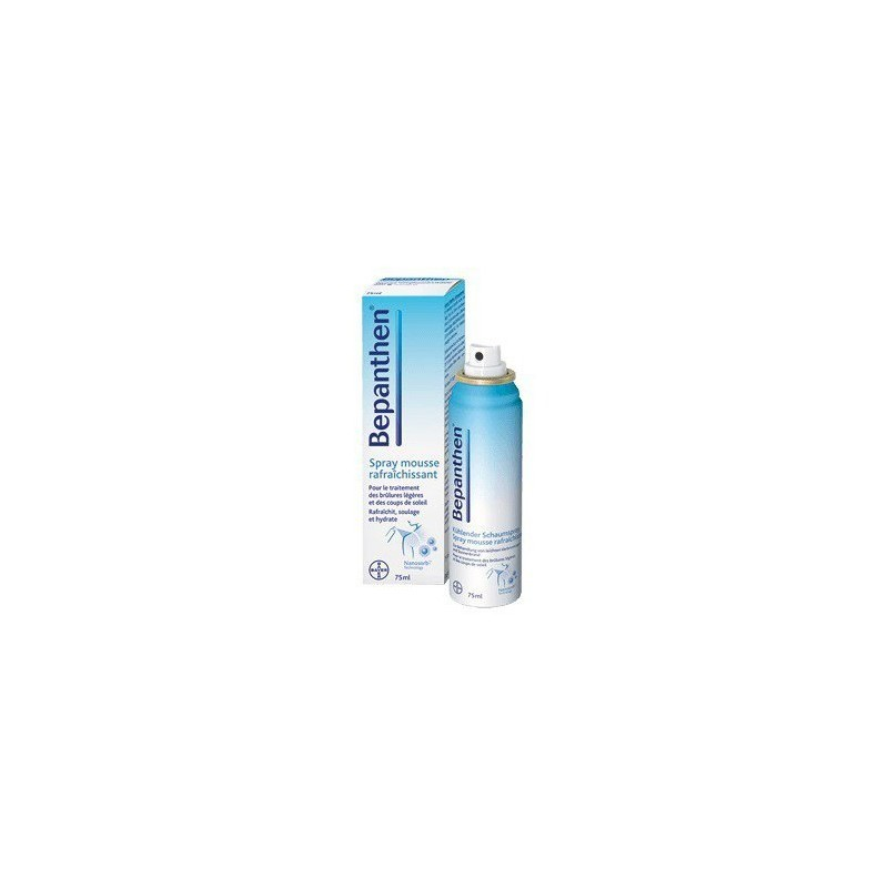 Bepanthen Spray Espuma Para Quemaduras 75 ML