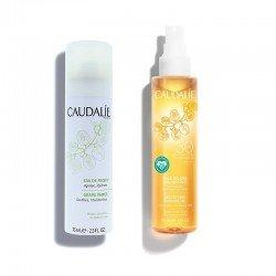 CAUDALIE Pack Aceite Solar Embellecedor SPF30 + Agua de Uva