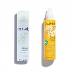 CAUDALIE Pack Spray Solar Lacteo SPF30 + Agua de Uva