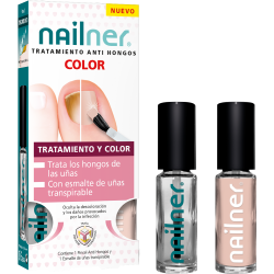 Nailner Tratamiento Anti Hongos Color Natural 2x5ml