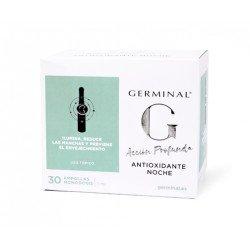 GERMINAL Accion Profunda Antioxidante Noche 30 ampollas