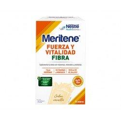 MERITENE Fibra batidos sabor vainilla 14 sobres