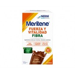 MERITENE Fibra Sabor Chocolate 14 Sobres.
