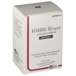 REGAXIDIL Minoxidil 50MG/ML 2x60ML