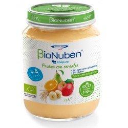 BioNuben Ecopure Frutas con Cereales 200gr