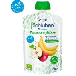 BioNuben Ecopouch Manzana y Platano 100gr