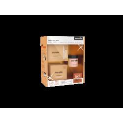 Sensilis Pack Skin Delight Crema DIa 50ml+Ampollas 15Uds+Peeling 30gr