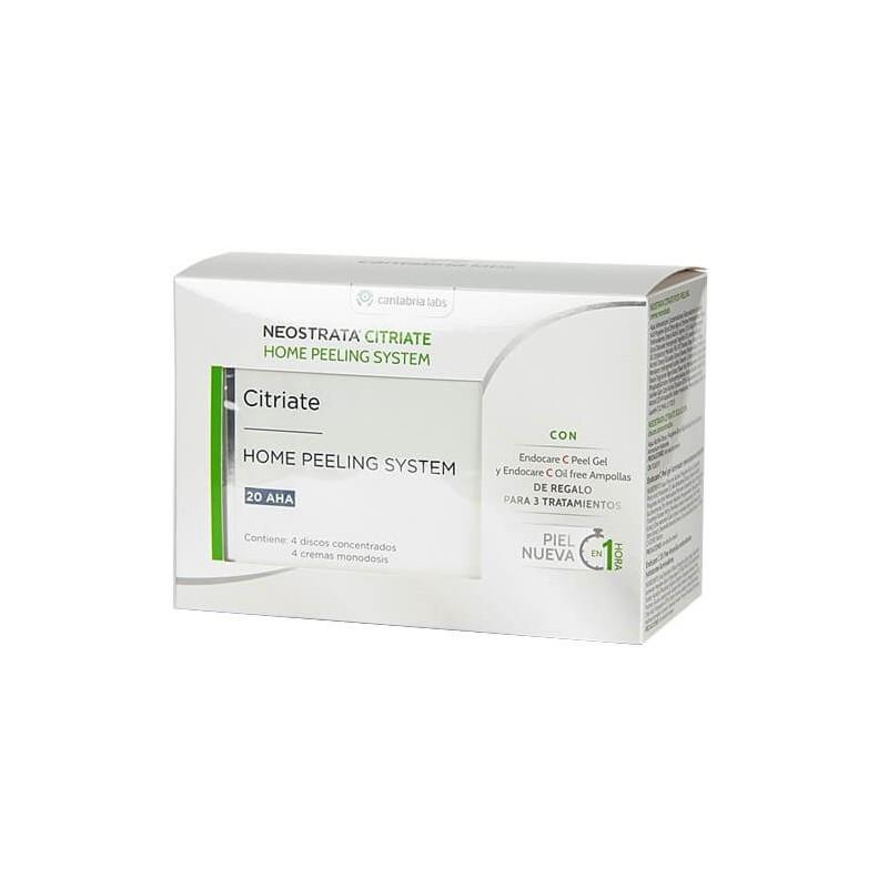 NEOSTRATA Pack Citriate+Endocare-C Peel Gel+Endocare-C Oil Free ampollas