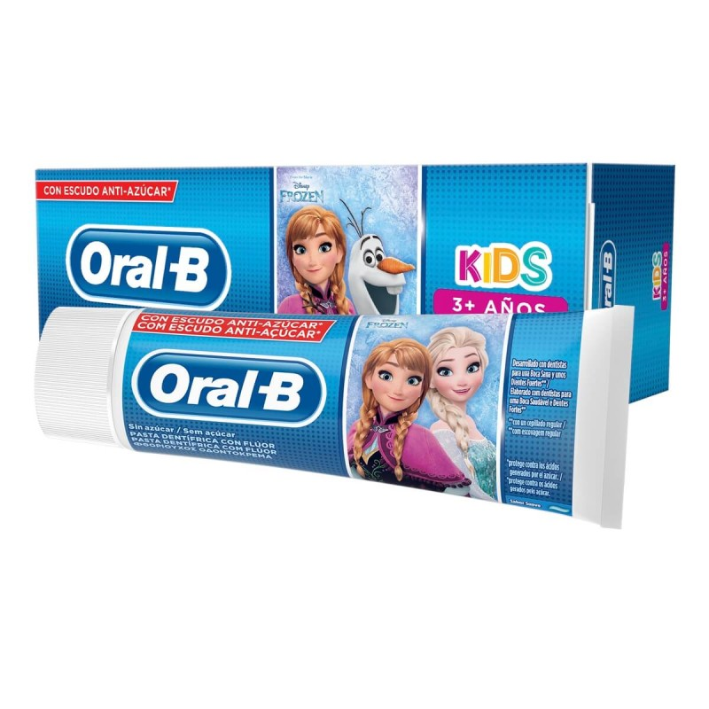 ORAL-B Kids Pasta Dentifrica Infantil Frozen 75ml