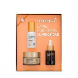 SESDERMA Pack Luminosidad C-Vit Liposomal Serum 30ml+C-Vit Crema 50ml+C-Vit Mist 30ml