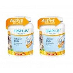 EPAPLUS Arthicare Colageno + Silicio + Hialuronico + Magnesio Instant Limon DUPLO 2x334gr