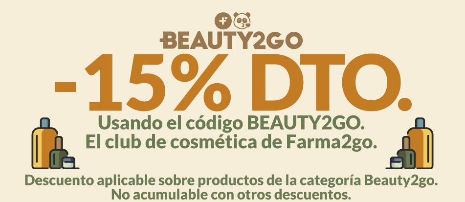 15% de descuento Beauty2go