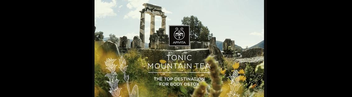 Apivita Mountain Tea gama de productos en Farma2go