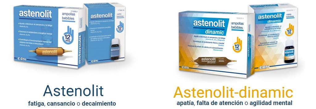 Astenolit complemento alimenticio para la fatiga