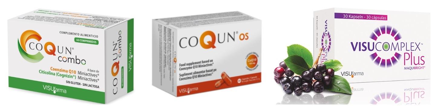 Complemento Alimenticio para la Vista CoQun VisuComplex
