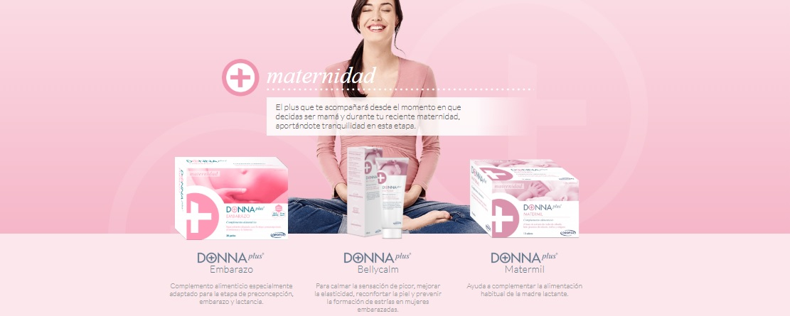 DONNA plus embarazo productos en Farma2go