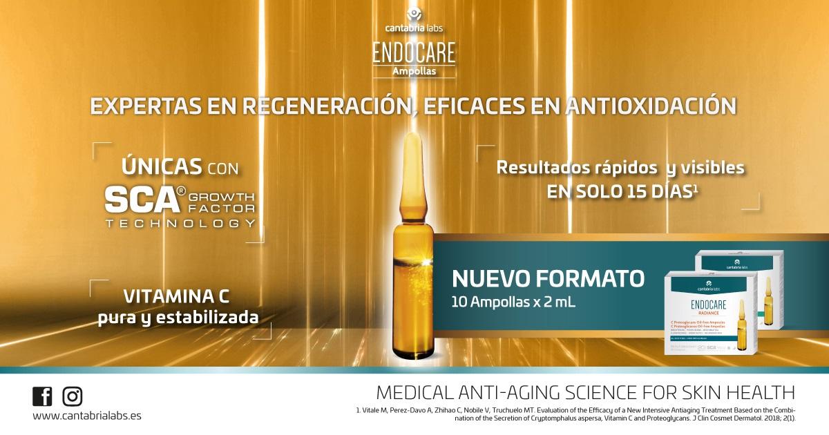 Endocare Ampollas Radiance C Proteoglicanos Oil Free
