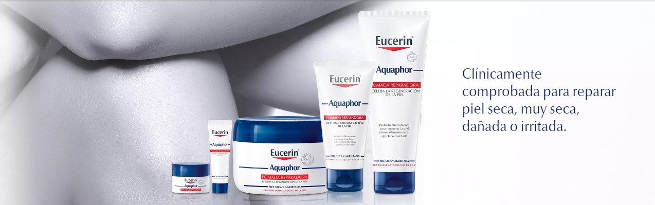 Eucerin Aquaphor Piel Seca e Irritada gama de productos en Farma2go