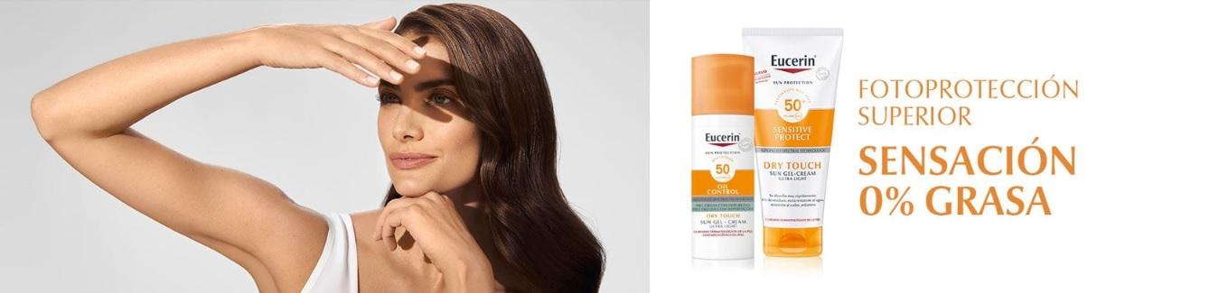 Eucerin Protector solar piel grasa y acné