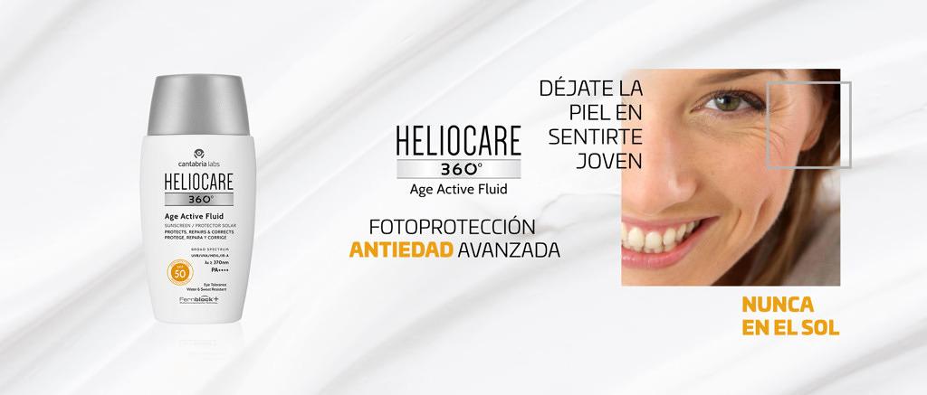 Heliocare Fotoprotector Antiedad Age Active Fluid