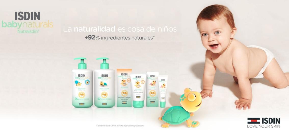 Isdin Baby Naturals Nutraisdin Ingredientes Naturales