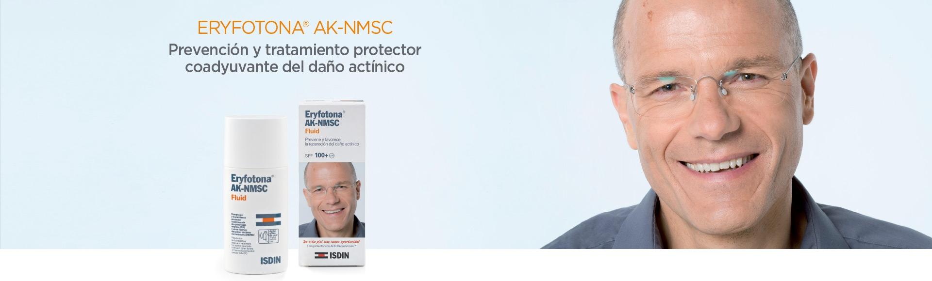 ISDIN Eryfotona AK-NMSC Banner