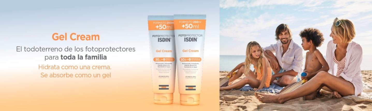 Isdin Protector Solar Gel Crema SPF50+ SPF30