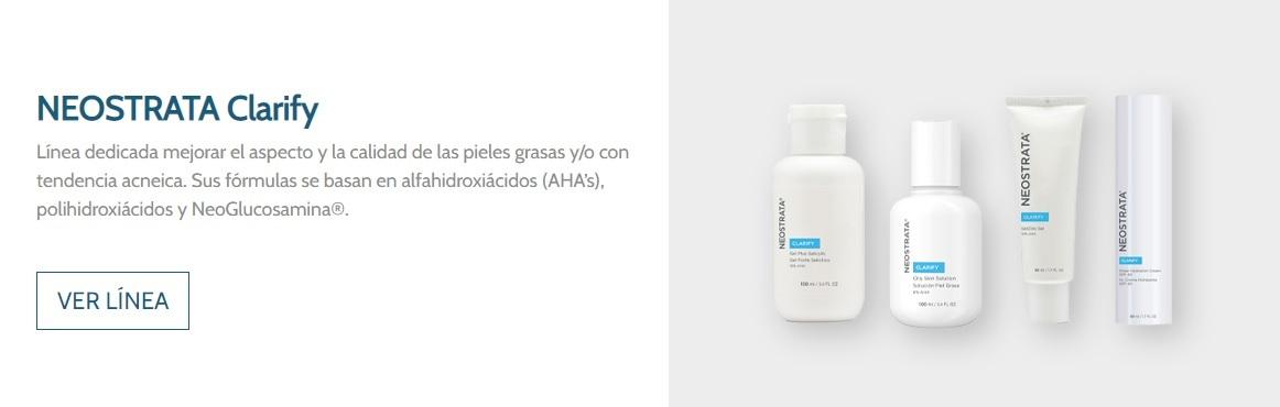 Neostrata Clarify Piel con acné