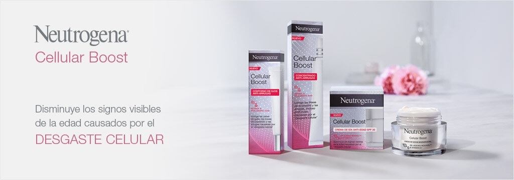 Neutrogena Cellular Boost gama en Farma2go