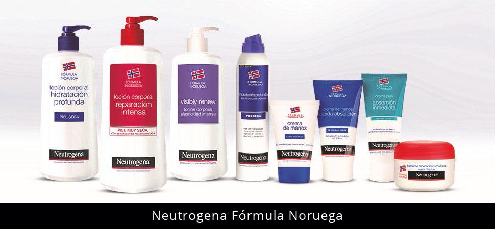Neutrogena gama de productos en Farma2go