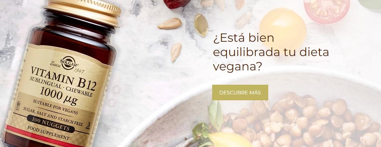 Solgar Vitamina B12 Vegana