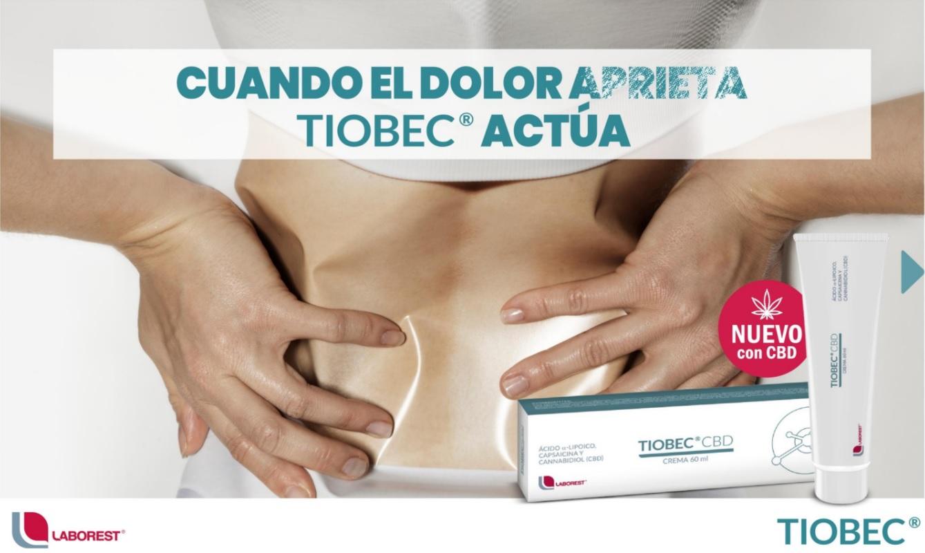 Tiobec CBD Crema