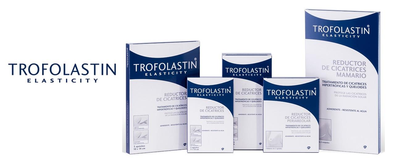 Trofolastin Elasticity reductor de cicatrices