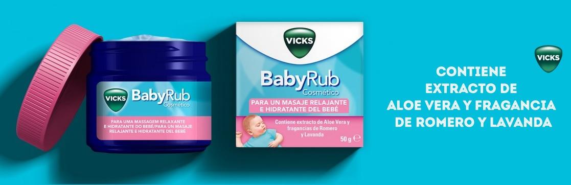 Vicks BabyRub Bálsamo Masaje Bebés