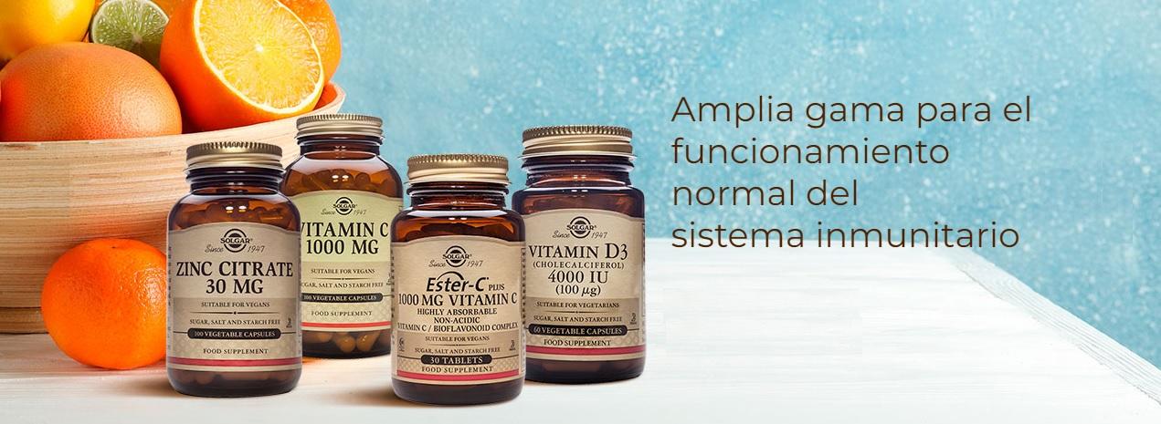 Solgar Complemento Alimenticio Sistema Inmunitario