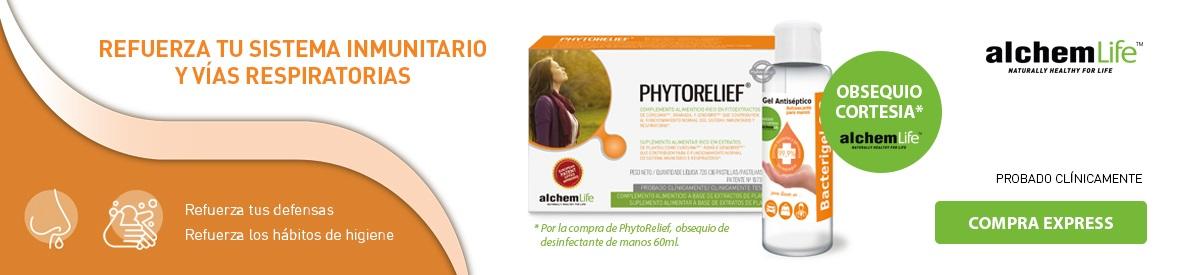 Alchemlife Phytorelief gel antiséptico de manos REGALO