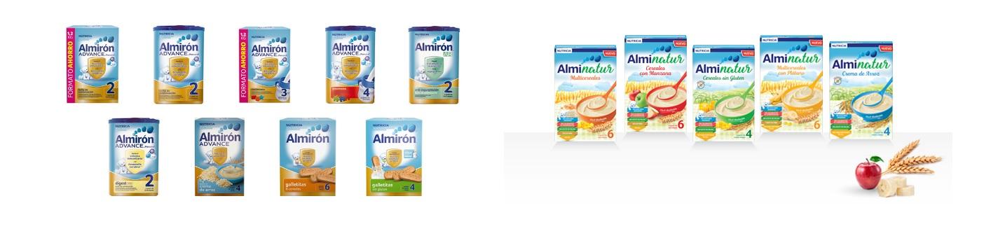 ALmiron gama de productos en Farma2go