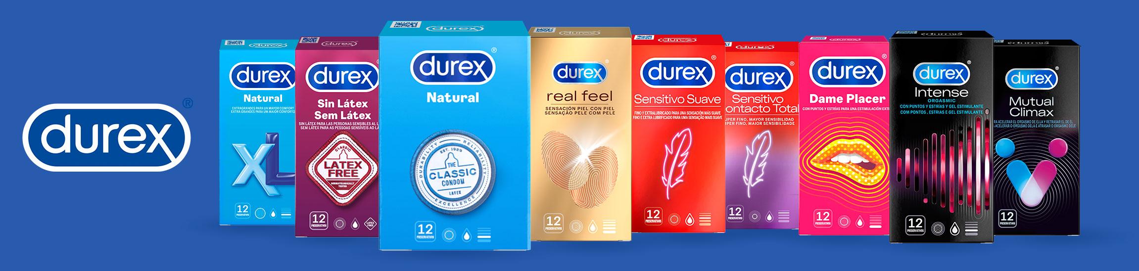 Condones Durex Preservativos