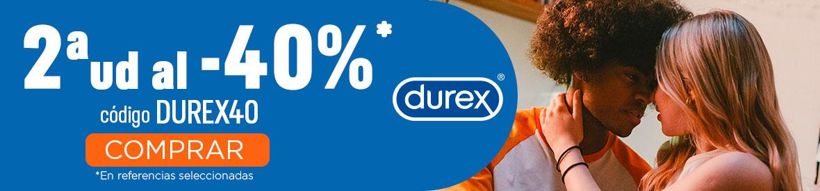 Durex 40% Descuento Promocion