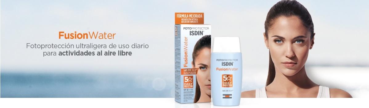 Isdin Fusion Water de Oferta Fotoprotector ISdin en Farma2go