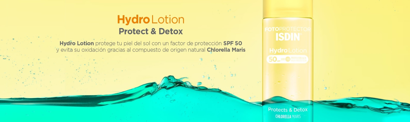 Isdin HYdroLotion Protector Solar SPF50