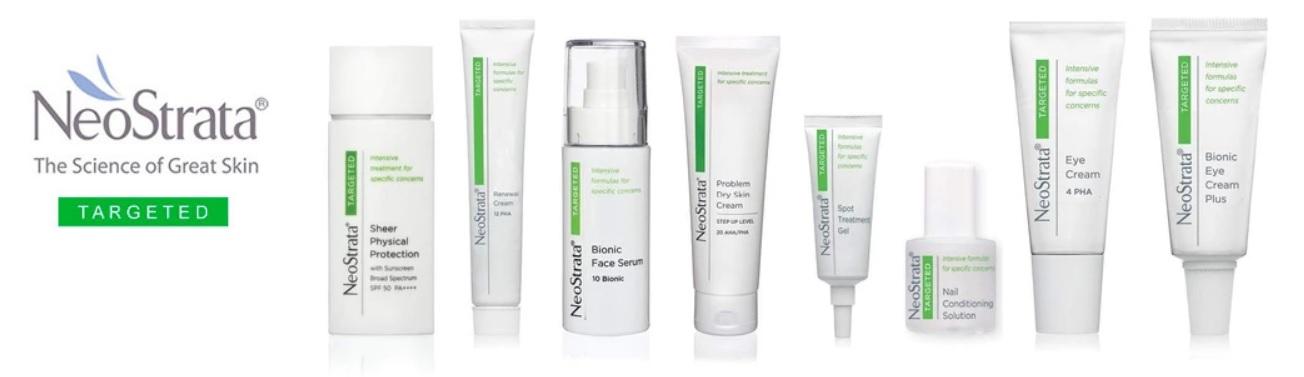 Neostrata Targeted gama de productos en Farma2go